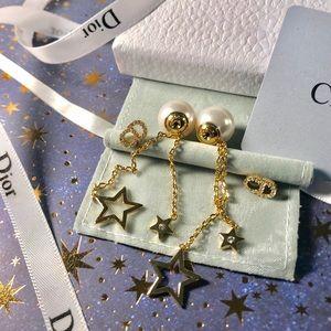 Dior Gold Star Drop Tribales
